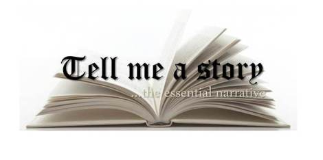 Tell me a story graphic